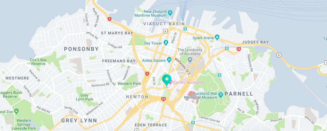 EC English Auckland - localização