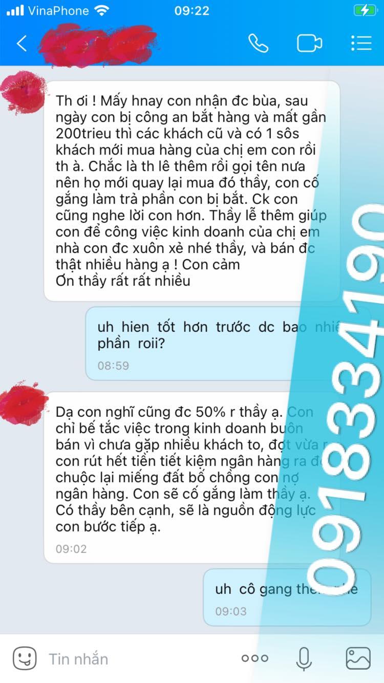 Thời gian đầu mới tìm thầy làm bùa yêu ở Bắc Giang