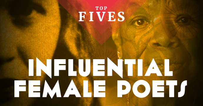 top five influential female poets