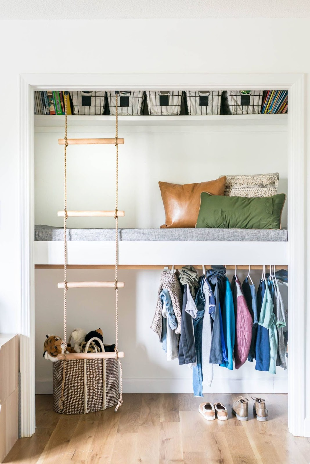 A Closet Loft Bed