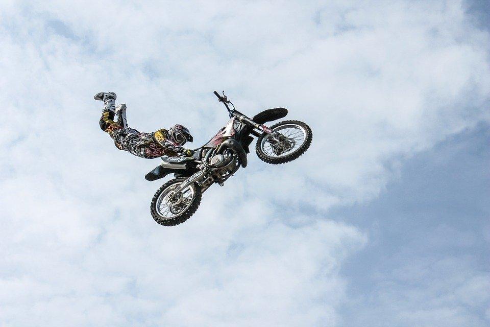 iker, Motorcycle, Stunt, Man, Person, Stuntman