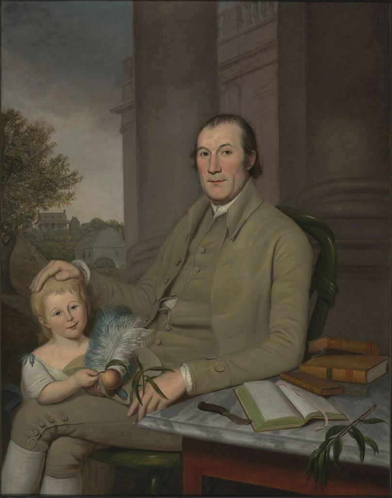 Portrait of William Smith and His Grandson, Charles Wilson Peale, 1788. Courtesy Virginia Museum of Fine Arts.