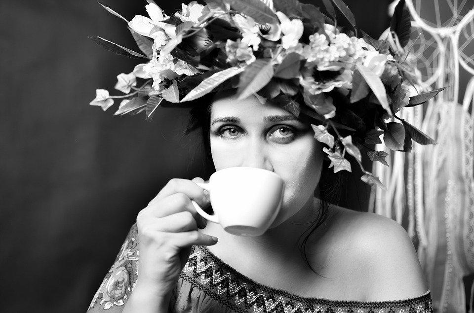 Woman, Coffee, Girl, Portrait, Photo, Appearance, Eyes
