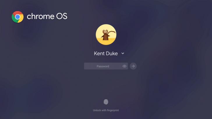 L'écran de connexion de Chrome OS obtient un nouveau look Material Design