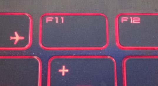 press F11 on your keyboard.