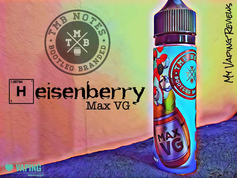 Heisenberry E-Liquid | TMB SHORT FILL JAR | 💙 LOVEVAPING.COM