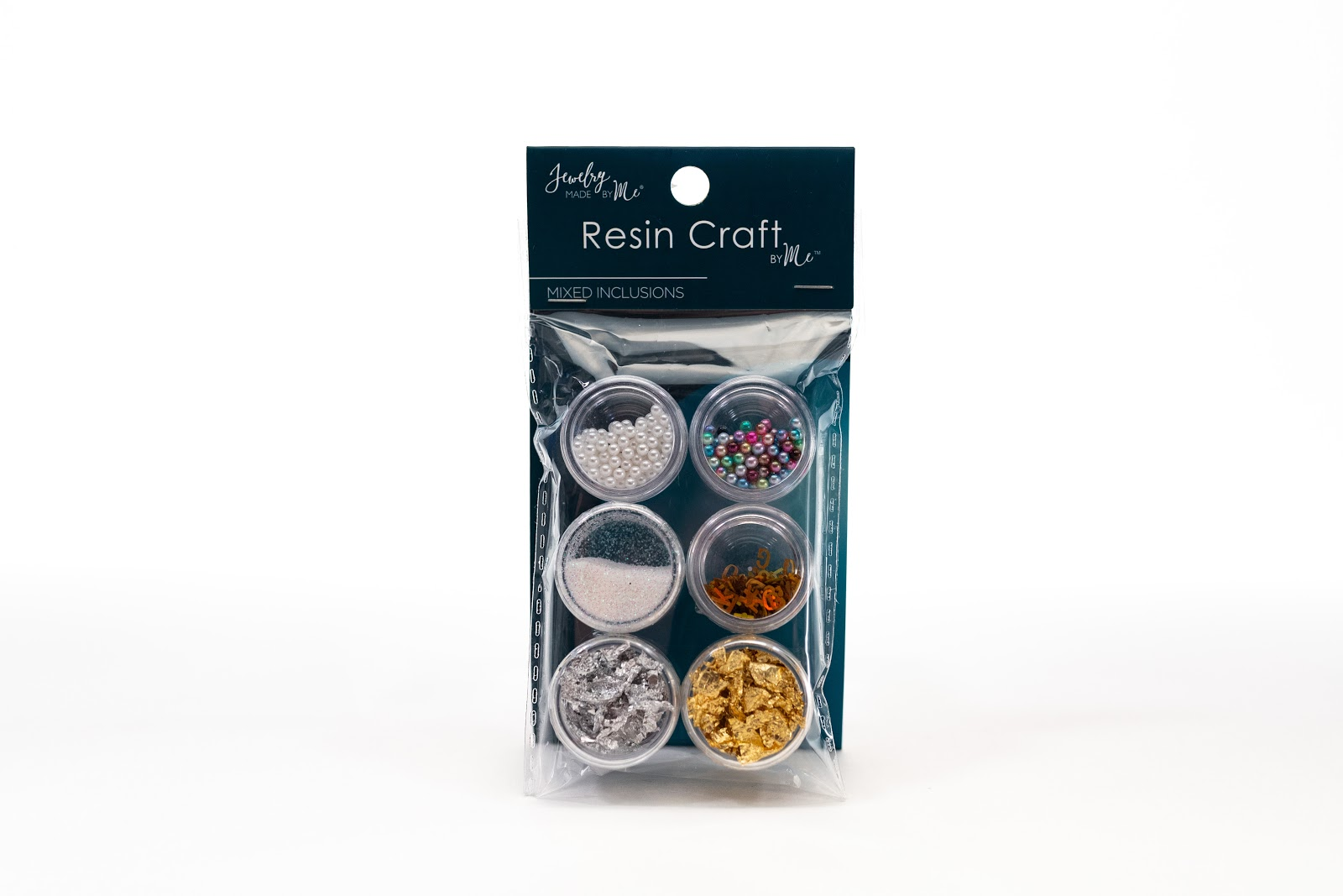 E-commerce product photography for Jewelry Made by Me featuring their Resin Craft product packaging on a white background.