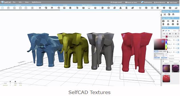 multi-color 3D printing