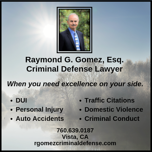 Raymond G  Gomez, Esq , DUI & Criminal Defense Lawyer - If