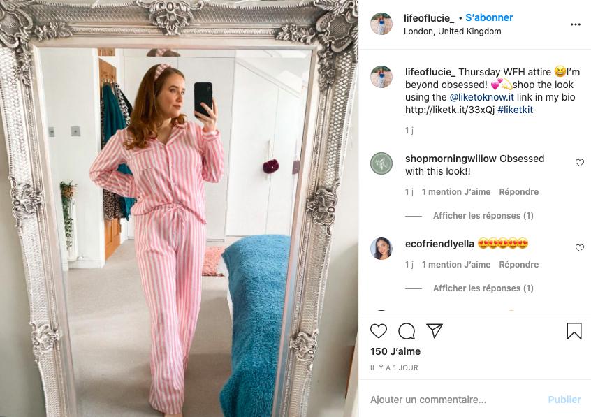 Life of Lucie Instagram affiliation
