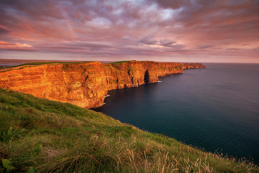 Image result for cliffs of moher sunset
