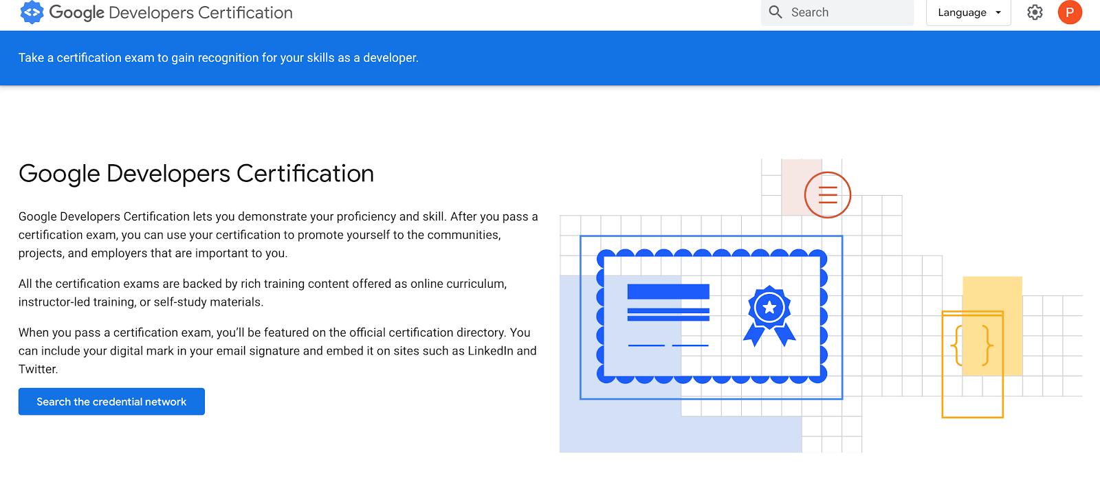 Certyfikaty Google 1