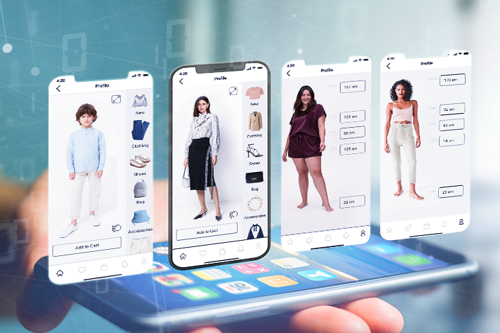 virtual fitting rooms, VR, How do virtual fitting rooms work?