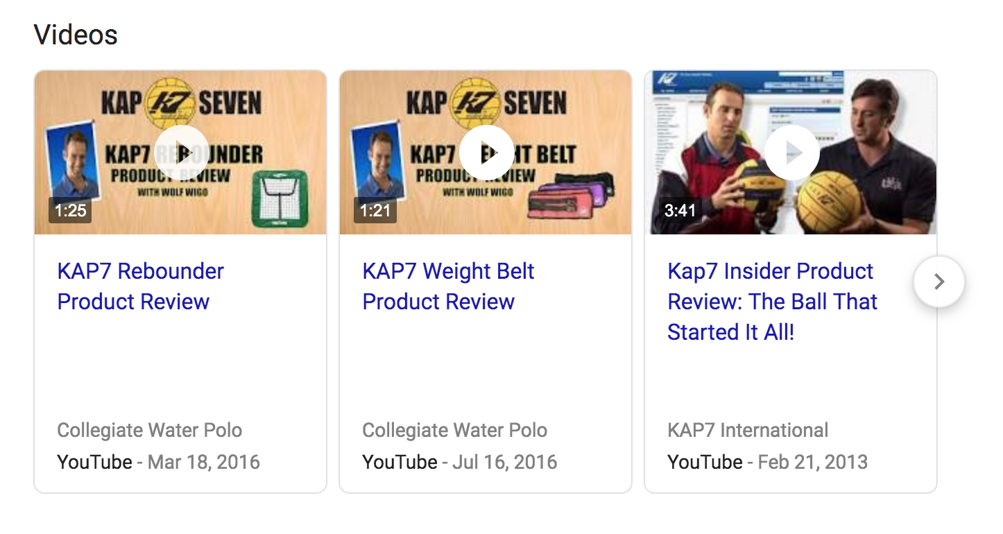 KAP7 video content strategy