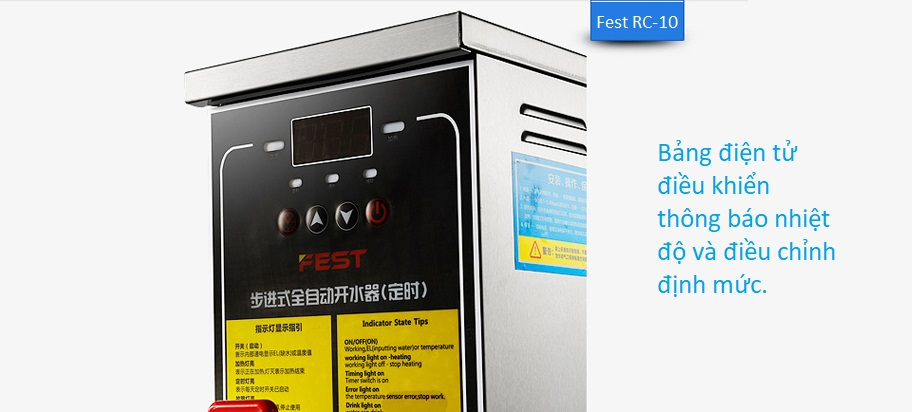 Máy đun nước siêu tốc Fest RC-30 - ảnh 3