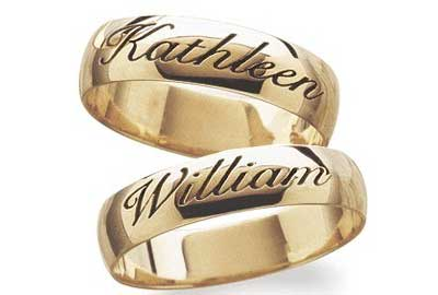 Wedding Ring Design Ideas western wedding rings Name Ringjpg