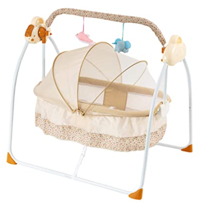 Baby Bassinet - Bedside Crib Adjustable Easy to Assemble Bassinet for Baby with Breathable Net