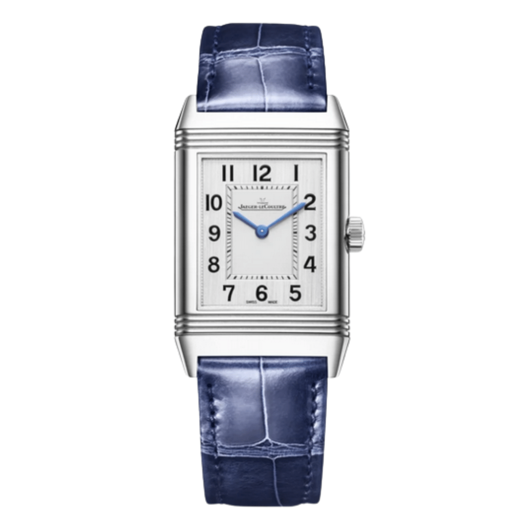 One Jaeger leCoultre Reverso watch.