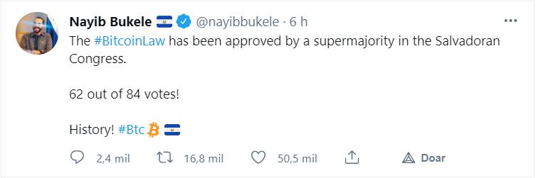 Nayb Bukele el salvador