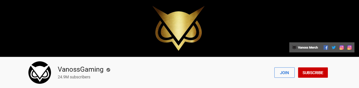 VanossGaming YouTube channel