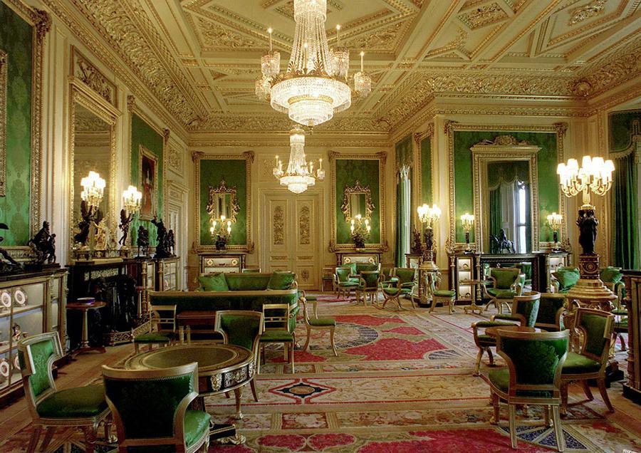 Букингемский дворец Зеленая комната