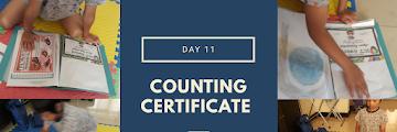 Menstimulasi Anak Suka Matematika (Menghitung Sertifikat) - Day 11