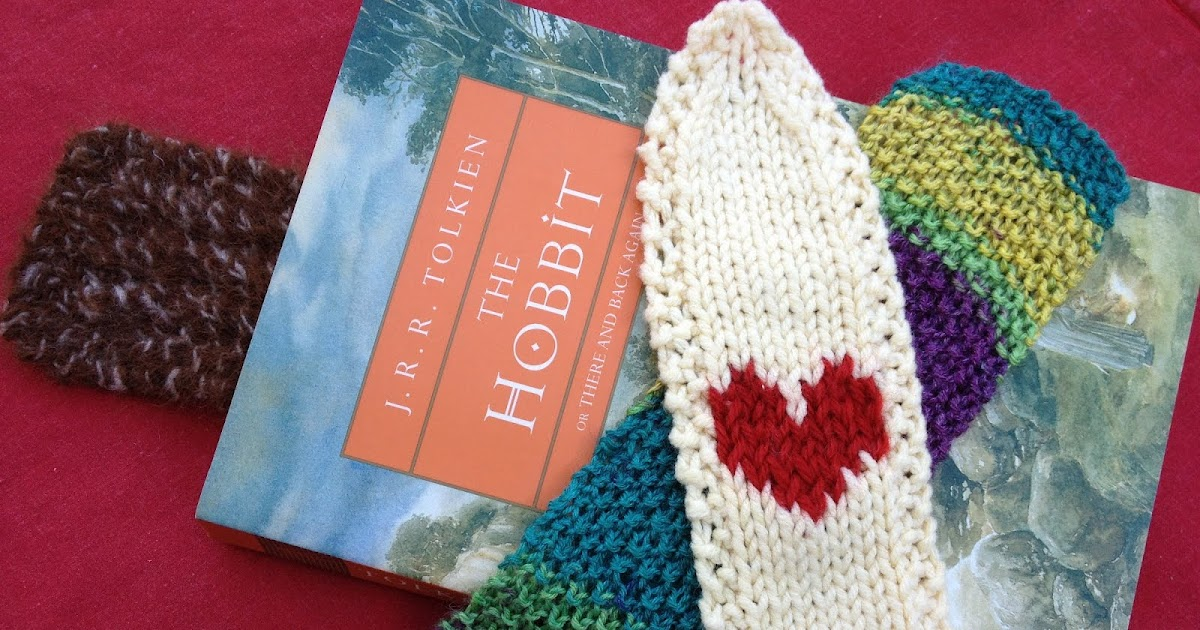 Less Noise More Green Guest Post A Trio Of Knitted Bookmarks