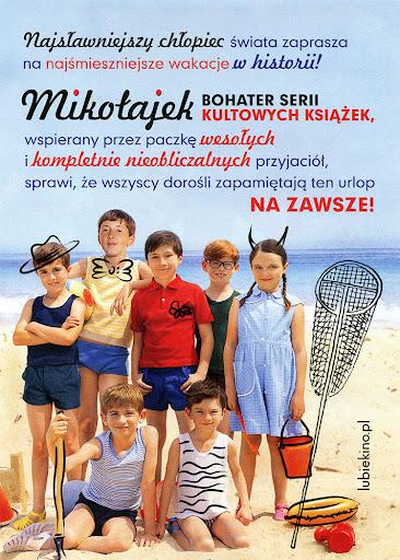 Tył ulotki filmu 'Wakacje Mikołajka'