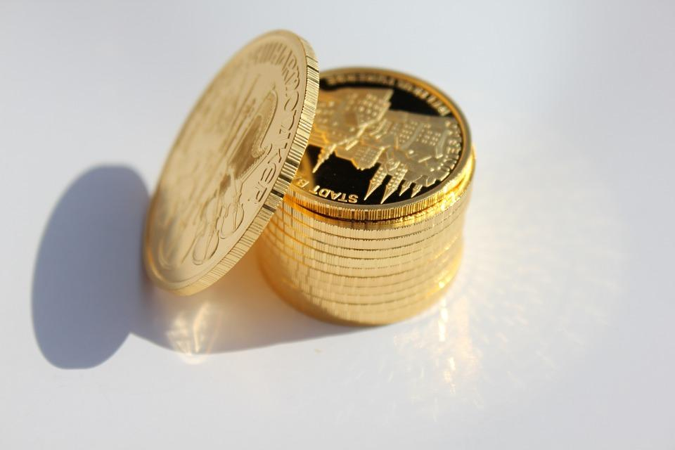Gold Coin, Metal, Money, Gold, Coin