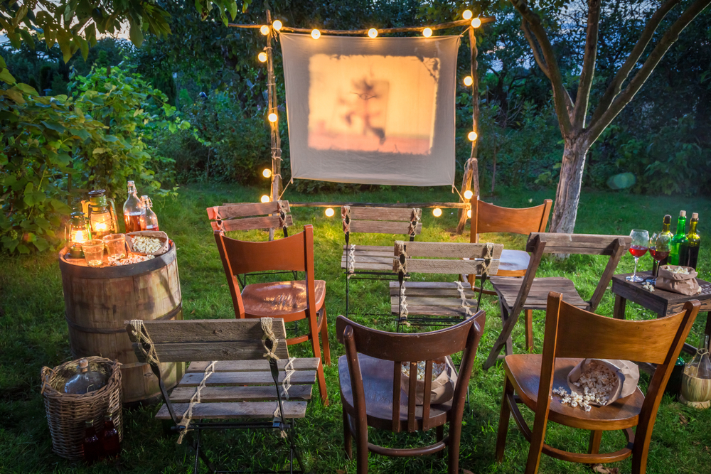 Outdoor Theater Setup