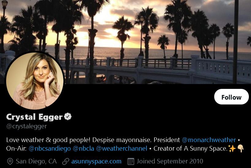 Crystal Egger - Weather Influencer