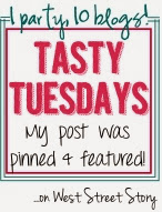 I was featured on Tasty Tuesdays at West Street Story