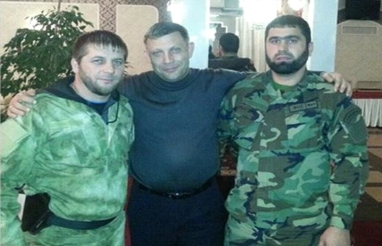 Охорона Захарченка, який врешті був ліквідований, складалась з чеченців