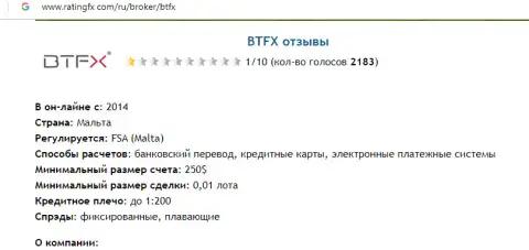 BT FX -ЛОХОТРОН!!!