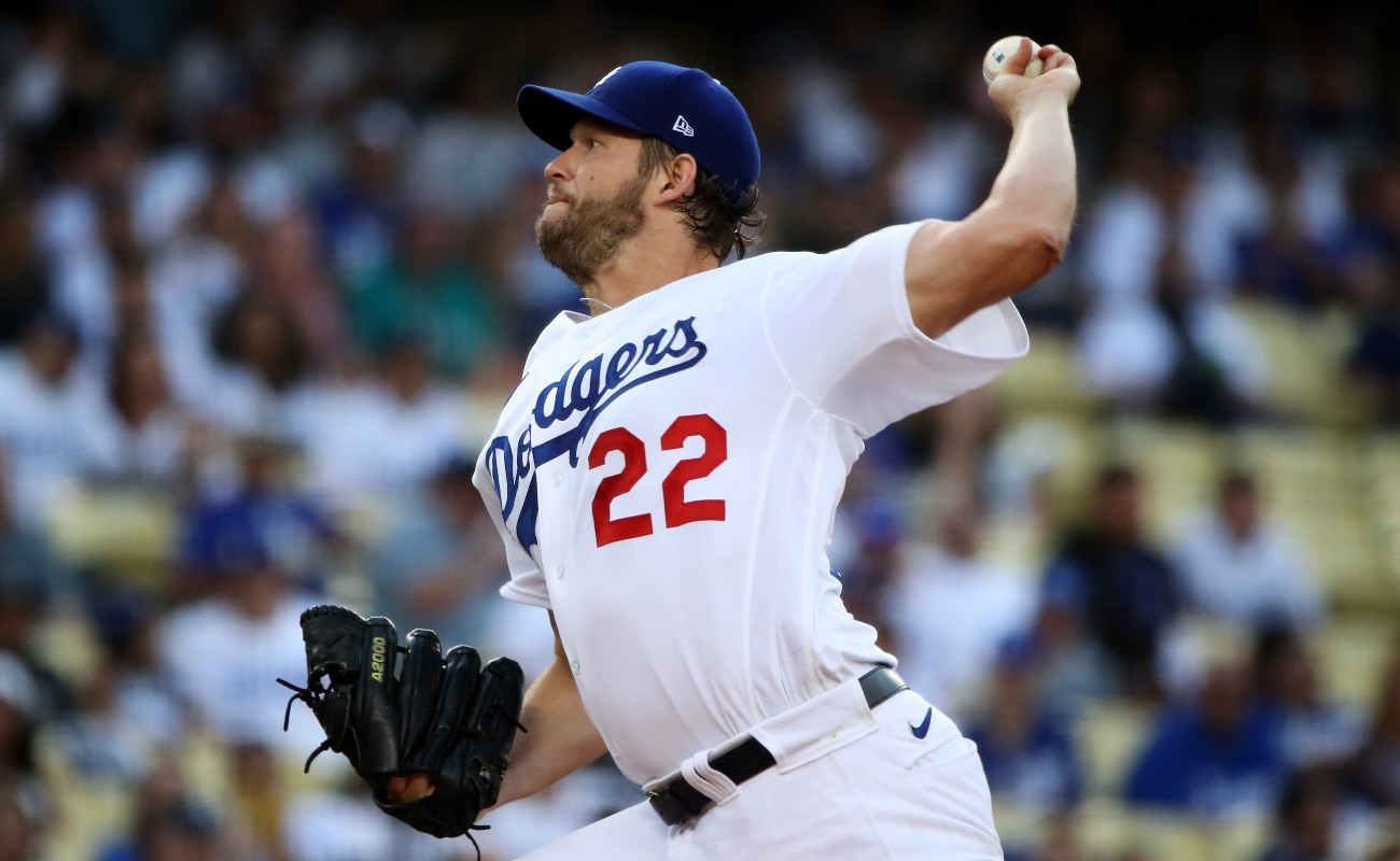 Clayton Kershaw Dodgers MLB Betting