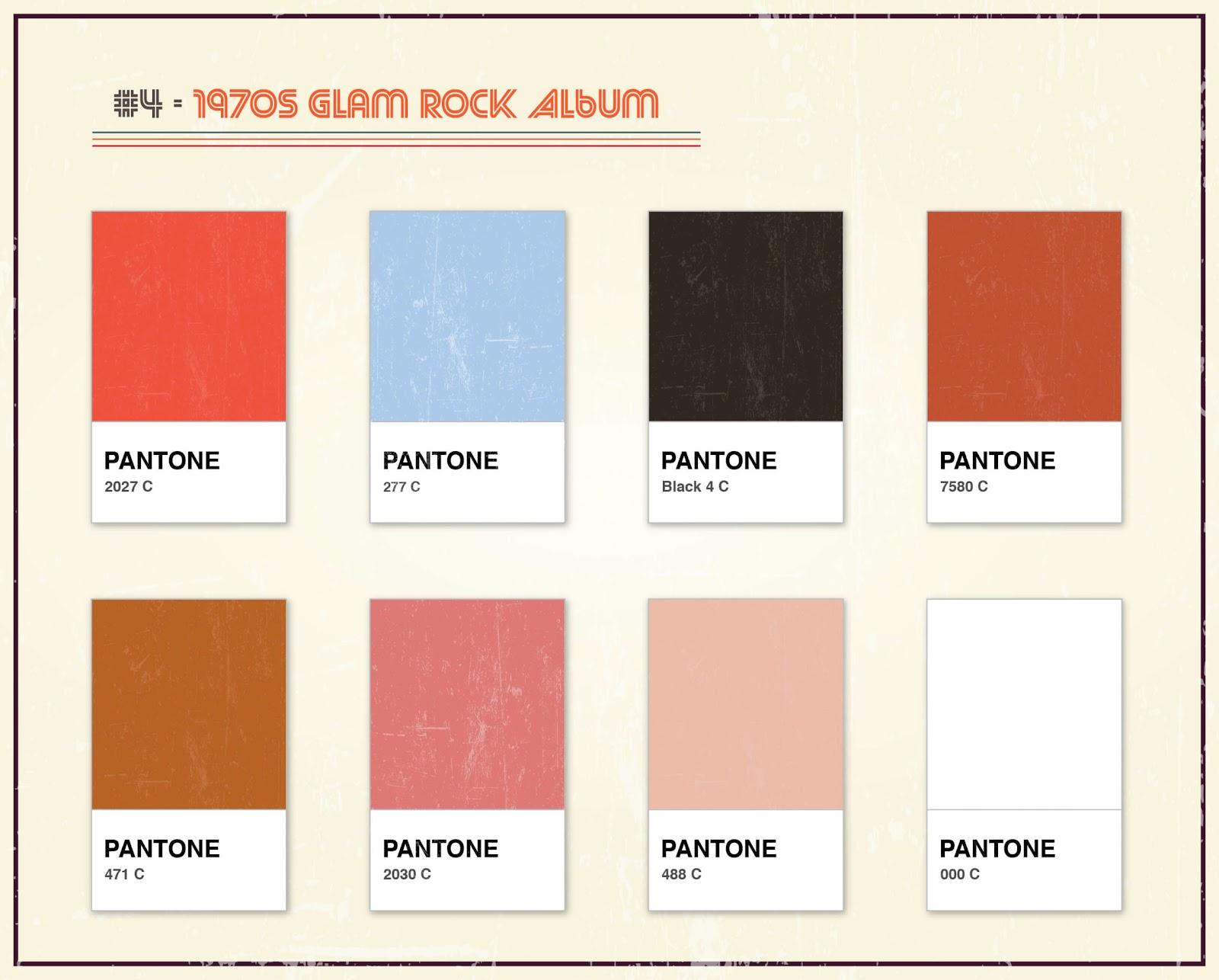 Album Artwork As Pantone: Famous Album Covers Without Text Quiz_4