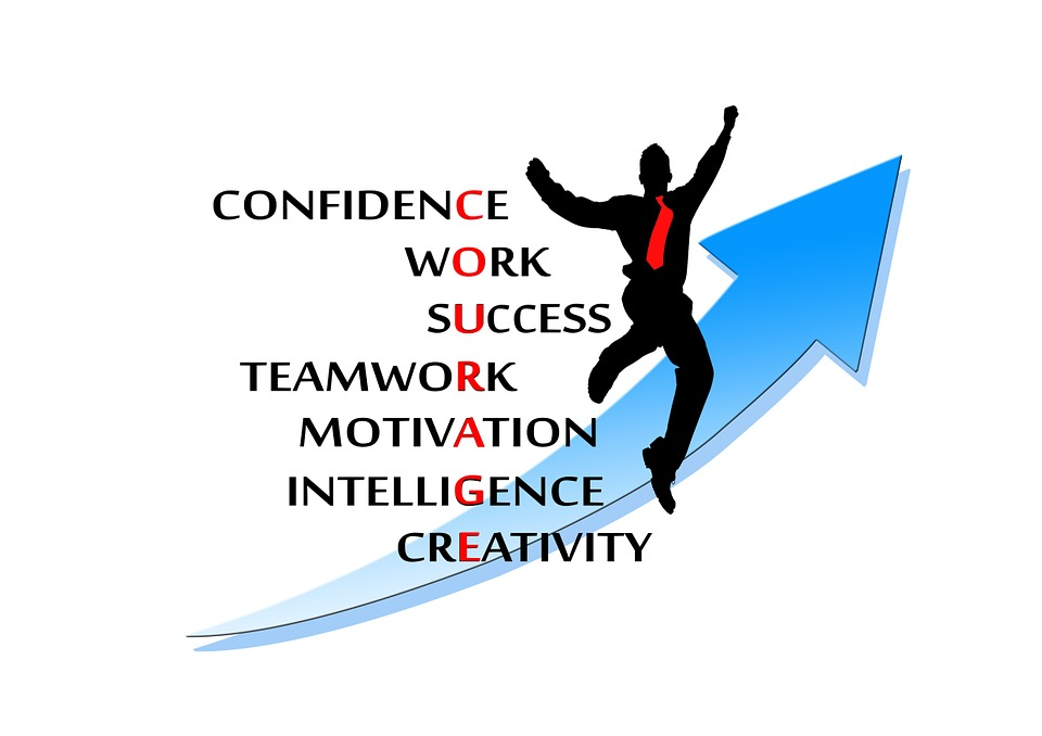 personal development, developing yourself, confidence