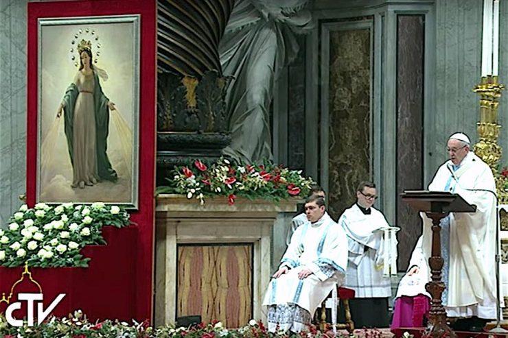 Bài giảng ngày đầu năm của Đức Thánh Cha trong Vương Cung Thánh Đường Thánh Phê-rô