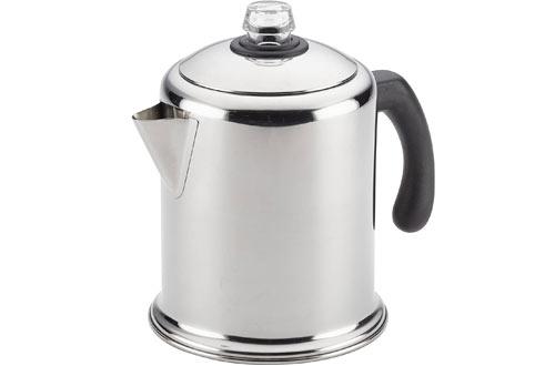 Farberware Classic Stainless Steel Yosemite 12-Cup Coffee Percolator
