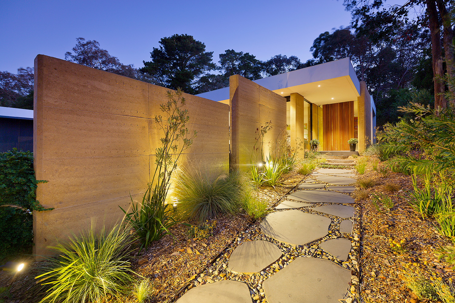 rammed-earth-home-entry-walls