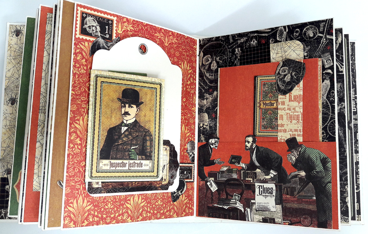 Master Detective Mini Album, by Einat Kessler, product by Graphic 45, photo9.jpg