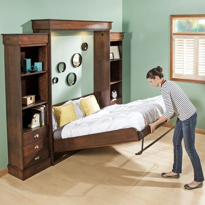 How Does A Murphy Bed Work What S The, Twin Size Murphy Bed Hardware Kit