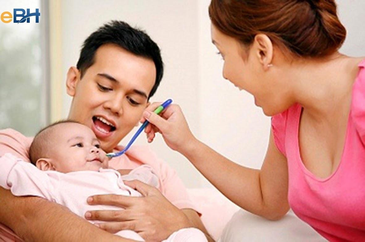 Chế độ thai sản cho nam khi vợ sinh con.