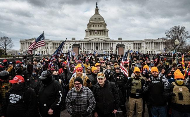In Pics: Trump Supporters Storm US Capitol Hill