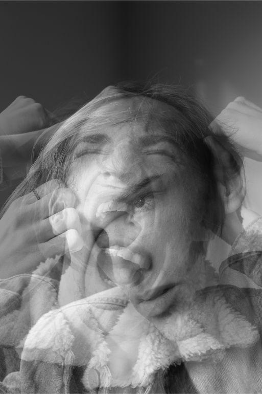 Exemplo de foto com dupla exposição na camera