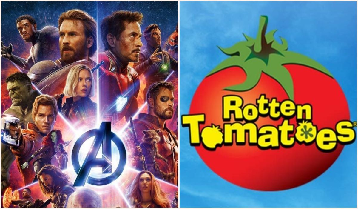 Marvel movies and The Rotten Tomato