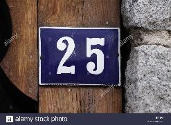 House Numbers High Resolution Stock Photography and Images - Alamy