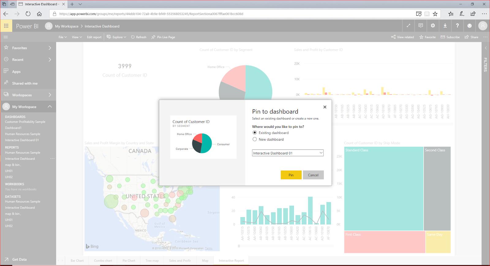Interactive Dashboard In Microsoft Power BI 77