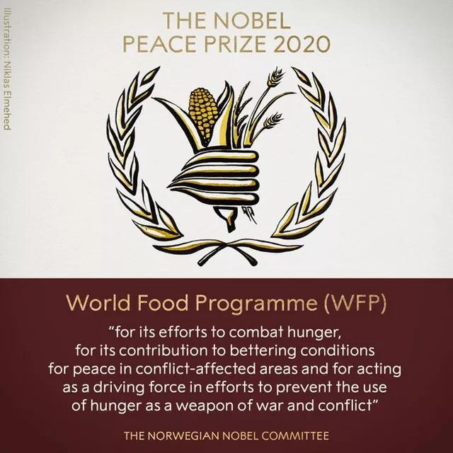 Programa de combate à fome é o vencedor do Nobel da Paz