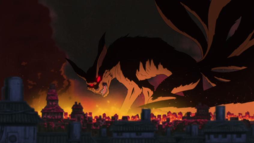 Nine-Tailed Demon Fox's Attack | Narutopedia | Fandom